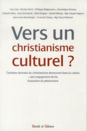 Vers un christianisme culturel - Couverture - Format classique