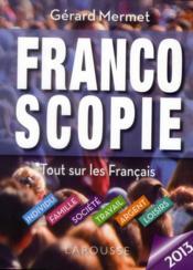 Francoscopie 2013 - Couverture - Format classique
