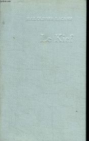 Le Kief. - Couverture - Format classique