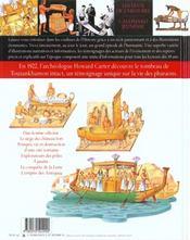 Les Tresors De Toutankhamon - 4ème de couverture - Format classique