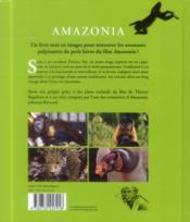 Amazonia ; le livre du film - 4ème de couverture - Format classique