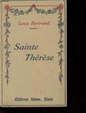 Sainte Therese - Couverture - Format classique