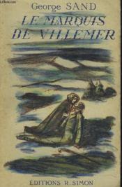 Le Marquis De Villemer - Couverture - Format classique