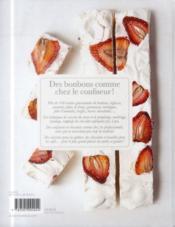 Atelier confiserie ; bonbons, guimauves, toffees, sucettes, réglisses... - 4ème de couverture - Format classique