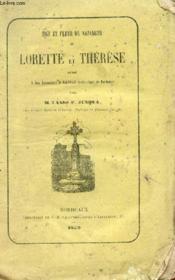 Tige Et Fleur De Nazareth Ou Lorette Et Therese. - Couverture - Format classique