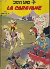 Lucky Luke - La Caravane -24 - Couverture - Format classique