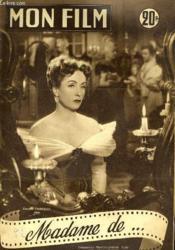 Mon Film N° 386 - Madame De ... - Couverture - Format classique
