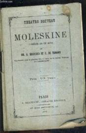Moleskine Comedie En Un Acte. - Couverture - Format classique
