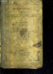 Petit Dictionnaire De La Langue Francaise / 2e Edition Refondue Neuvieme Tirage - Ouvrage Autorise Par Le Conseil De L'Instruction Publique. - Couverture - Format classique