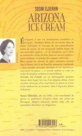 Arizona Ice Cream - 4ème de couverture - Format classique