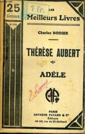 Therese Aubert - Adele / Collection Les Meilleurs Livres N° 176. - Couverture - Format classique