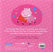 Peppa Pig ; je t'aime de tout mon coeur - 4ème de couverture - Format classique