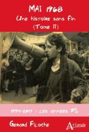 Mai 1968, une histoire sans fin t.2 ; 1994-201, les années PS - Couverture - Format classique