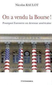 On A Vendu La Bourse - Intérieur - Format classique