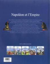 Napoléon et l'empire - 4ème de couverture - Format classique