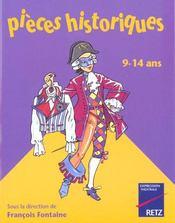 Pieces Historiques 9/14 Ans - Intérieur - Format classique