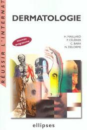 Dermatologie Nouveau Programme - Intérieur - Format classique