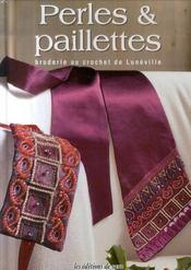Perles & paillettes. broderie au crochet de luneville - Intérieur - Format classique