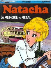 Natacha t.3 ; la mémoire de métal - Intérieur - Format classique