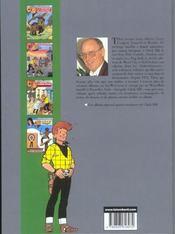 Chick Bill ; intégrale t.18 - 4ème de couverture - Format classique