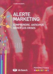 Alerte marketing - Intérieur - Format classique