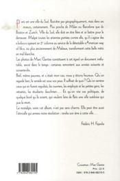 Paris rouge et noir - 4ème de couverture - Format classique