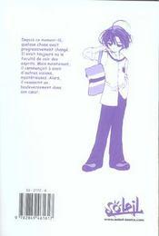 Pita-Ten T.3 - 4ème de couverture - Format classique