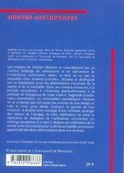 Charles dickens ; entre normes et déviance - 4ème de couverture - Format classique