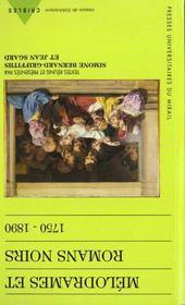 Melodrames et romans noirs - Intérieur - Format classique