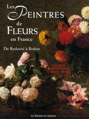 Peintres De Fleurs En France (3ed) - Intérieur - Format classique