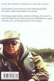 Bob Morane t.2008 ; la fille de l'anaconda - 4ème de couverture - Format classique