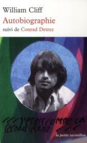 Autobiographie ; Conrad Detrez - Couverture - Format classique