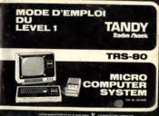 Tandy radio shack, micro computer sustem cat. Nr. 26-9400: mode d'emploi du level 1 - Couverture - Format classique