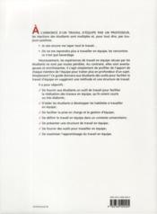 Comment Travailler En Equipe De Facon Efficace - 4ème de couverture - Format classique