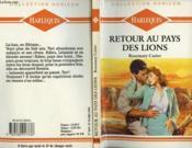 Retour Au Pays Des Lions - Partners In Passion - Couverture - Format classique