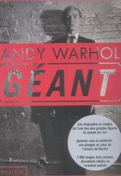 Andy Warhol Geant - Intérieur - Format classique