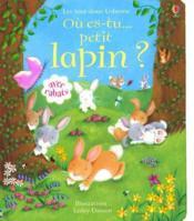 Où es-tu petit lapin ? - Couverture - Format classique
