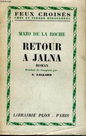 Retour A Jalna - Couverture - Format classique