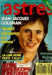 Astres N°486 - Jan-Jacques Goldman - Princesse Beatrice Nee Le 8.8.88... - Couverture - Format classique