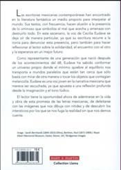 Cecilia Eudave: lo fantástico de una escritura - 4ème de couverture - Format classique