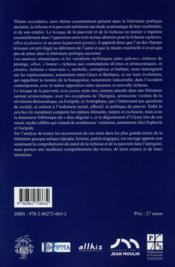 Poesie de la richesse et de la pauvrete - 4ème de couverture - Format classique