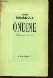Ondine - Piece En Trois Actes - Couverture - Format classique