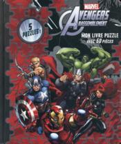 Avengers Rassemblement ; mon livre puzzle avec 50 pièces - Couverture - Format classique