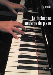 La technique moderne du piano - Couverture - Format classique