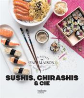 Sushis, chirashis & cie - Couverture - Format classique