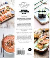 Sushis, chirashis & cie - 4ème de couverture - Format classique