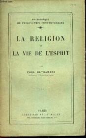 La Religion Et La Vie De L'Esprit. - Couverture - Format classique