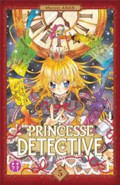 Princesse Détective T.5 - Couverture - Format classique