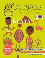 Magazine Georges N.46 ; Kenya - Couverture - Format classique
