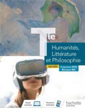 Humanites, litterature et philosophie terminale specialite - livre eleve - ed. 2020 - Couverture - Format classique